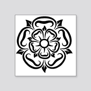 "rose of yorkshire lancashir Square Sticker 3"" x 3"""