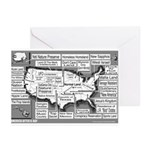 America After X-Day Greeting Cards (Pk of 10)