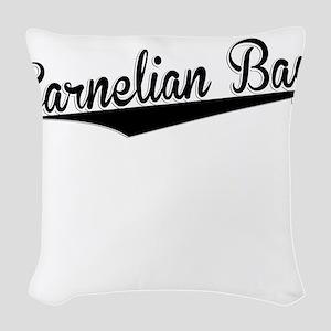 Carnelian Bay, Retro, Woven Throw Pillow