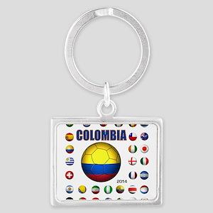 Colombia futbol soccer Keychains