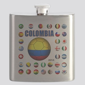 Colombia futbol soccer Flask