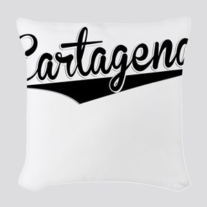 Cartagena, Retro, Woven Throw Pillow