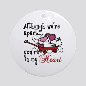 Youre In My Heart Ornament (Round)
