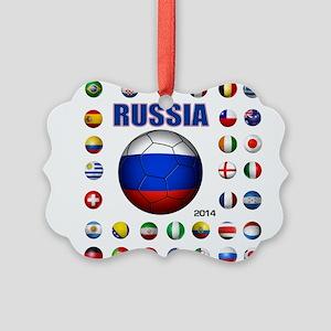 Russia soccer Ornament