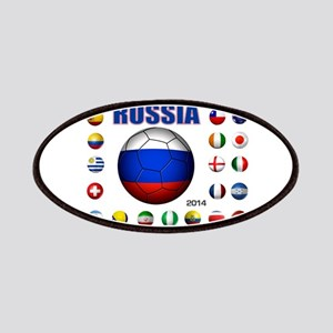 Russia soccer Patches