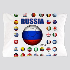 Russia soccer Pillow Case