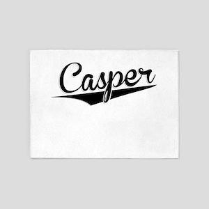 Casper, Retro, 5'x7'Area Rug