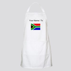Custom South Africa Flag Apron