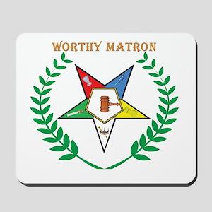 OES Worthy Matron Mousepad