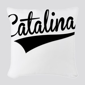 Catalina, Retro, Woven Throw Pillow