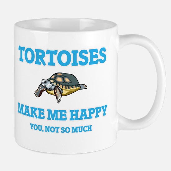 Tortoises Make Me Happy Mugs