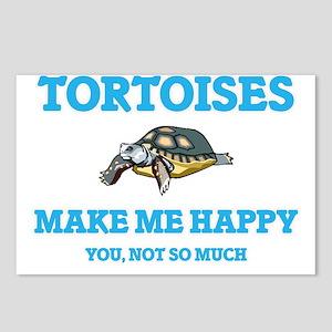 Tortoises Make Me Happy Postcards (Package of 8)