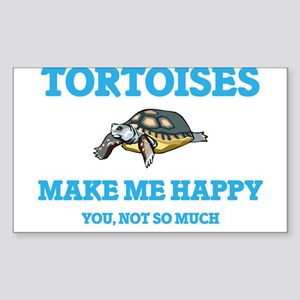 Tortoises Make Me Happy Sticker