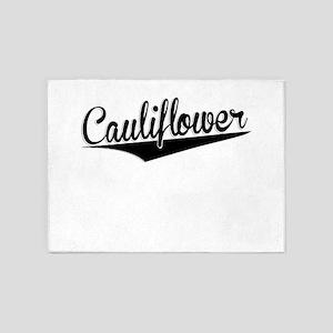 Cauliflower, Retro, 5'x7'Area Rug
