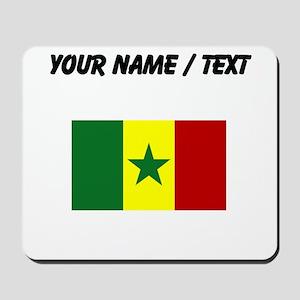 Custom Senegal Flag Mousepad