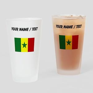 Custom Senegal Flag Drinking Glass