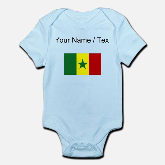 Custom Senegal Flag Body Suit