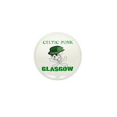 Celtic Punk Glasgow Mini Button (10 pack)