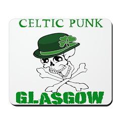 Celtic Punk Glasgow Mousepad