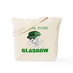 Celtic Punk Glasgow Tote Bag