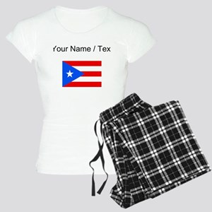 Custom Puerto Rico Flag Pajamas