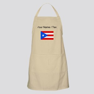 Custom Puerto Rico Flag Apron