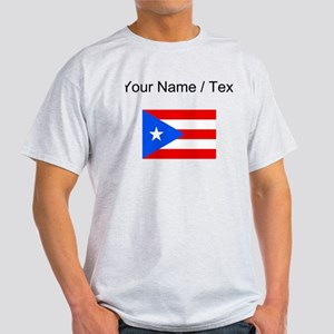 Custom Puerto Rico Flag T-Shirt