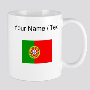Custom Portugal Flag Mugs