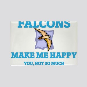 Falcons Make Me Happy Magnets