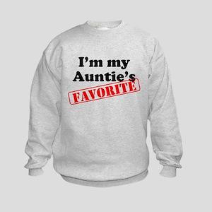 Im My Aunties Favorite Sweatshirt