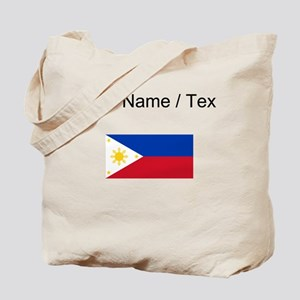 Custom Philippines Flag Tote Bag