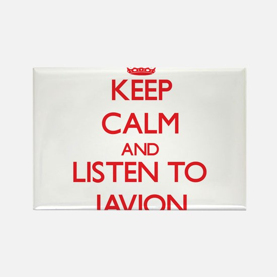 Keep Calm and Listen to Javion Magnets