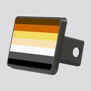 Classic Bear Pride Flag Hitch Cover