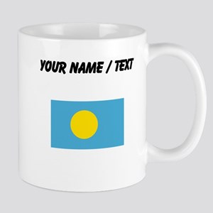 Custom Palau Flag Mugs