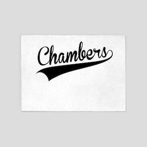 Chambers, Retro, 5'x7'Area Rug