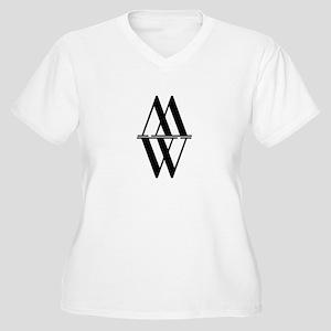 Initial Reflection Monogram Plus Size T-Shirt