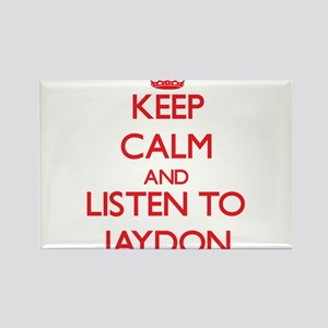 Keep Calm and Listen to Jaydon Magnets