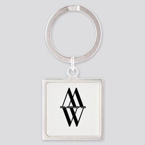 Initial Reflection Monogram Keychains