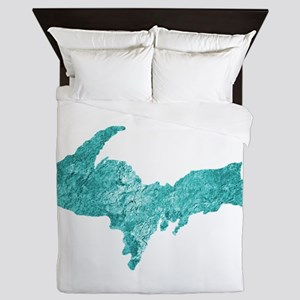 Oxidized Copper U.P. Queen Duvet
