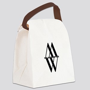 Initial Reflection Monogram Canvas Lunch Bag