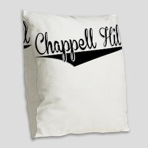 Chappell Hill, Retro, Burlap Throw Pillow