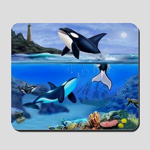 THE ORCA FAMILY Mousepad