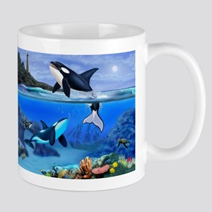 THE ORCA FAMILY Mugs