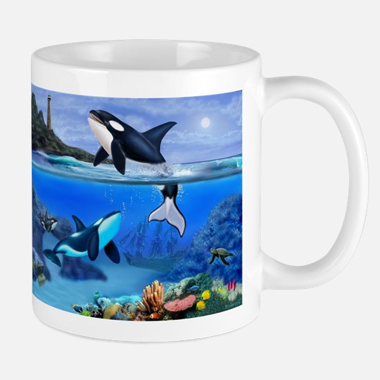 THE ORCA FAMILY Mugs