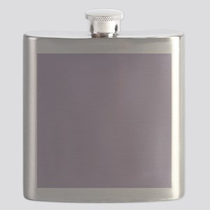 Heather Purple Solid Color Flask