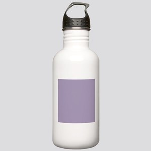 Heather Purple Solid Color Sports Water Bottle