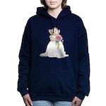 A Hamster Bride Women's Hooded Sweatshirt
