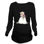 A Hamster Bride Long Sleeve Maternity T-Shirt
