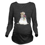 A Hamster Bride Long Sleeve Maternity T-Shirt