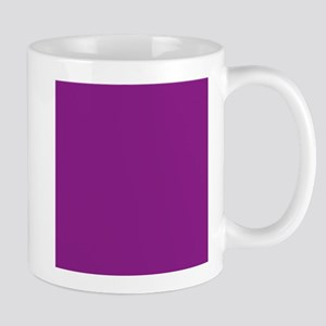 Plum Purple Solid Color Mugs